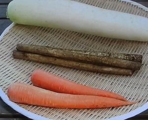 冬野菜の保存方法!干し野菜の大根、人参のピクルス、ポタージュなど